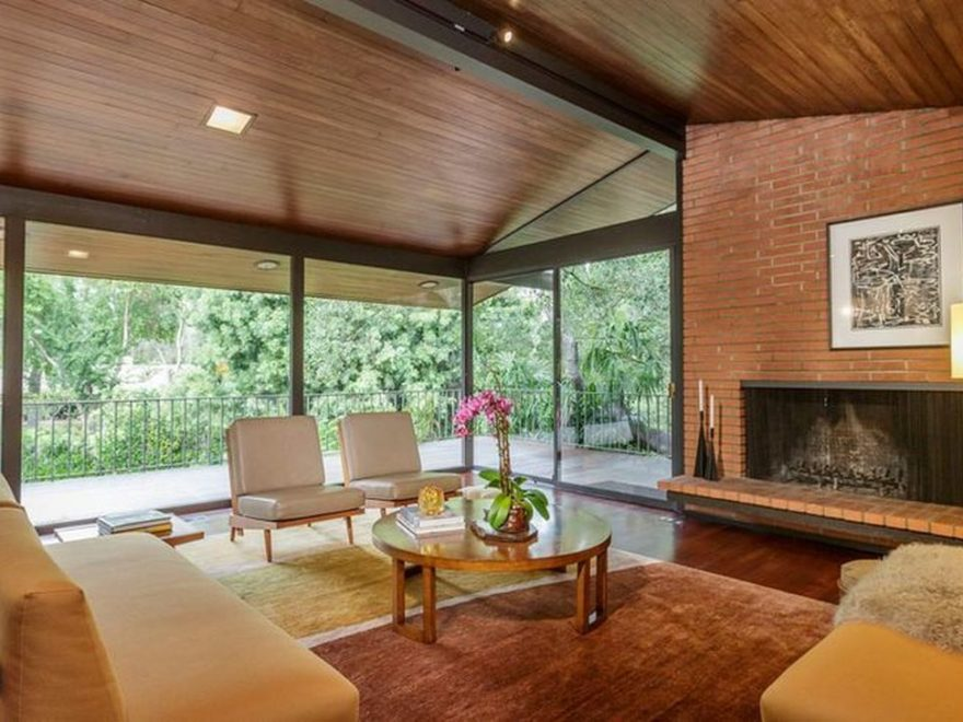 Awesome Modern Mid Century Living Room Decoration Ideas 15