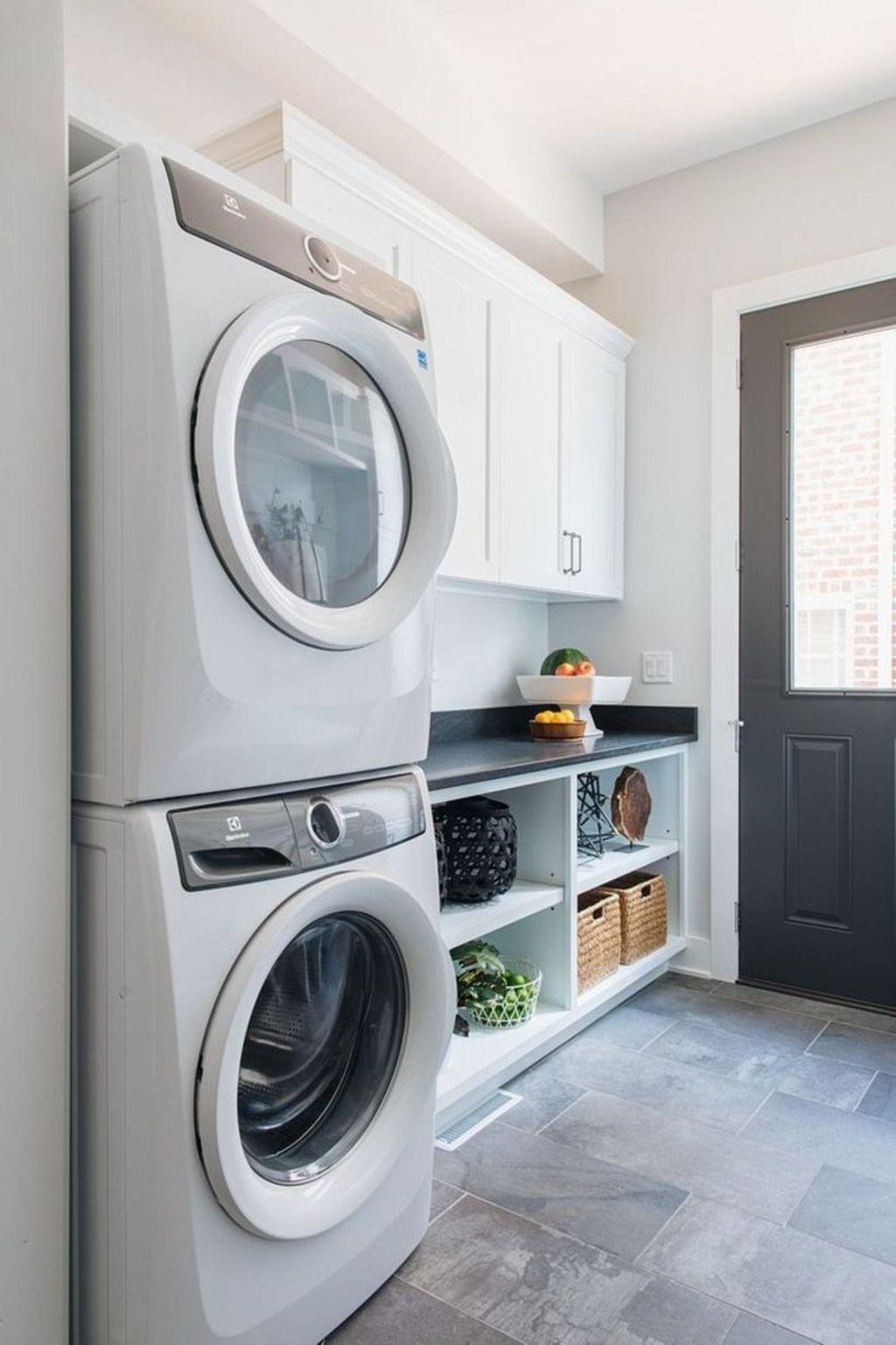 Inspiring Small Laundry Room Design And Decor Ideas 19 Hmdcrtn