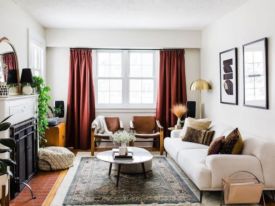 Inspiring Small Space Living Room Decorating Ideas 34
