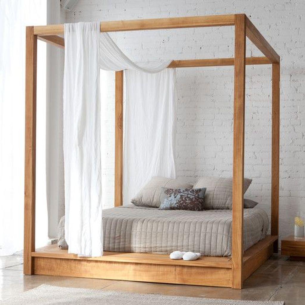 Lovely Romantic Canopy Bed Design Ideas For Your Bedroom 07 Hmdcrtn
