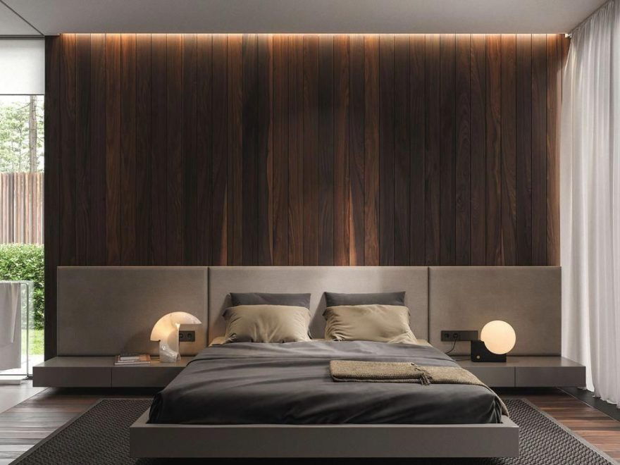 Popular Modern Man Bedroom With Elegant Look 13