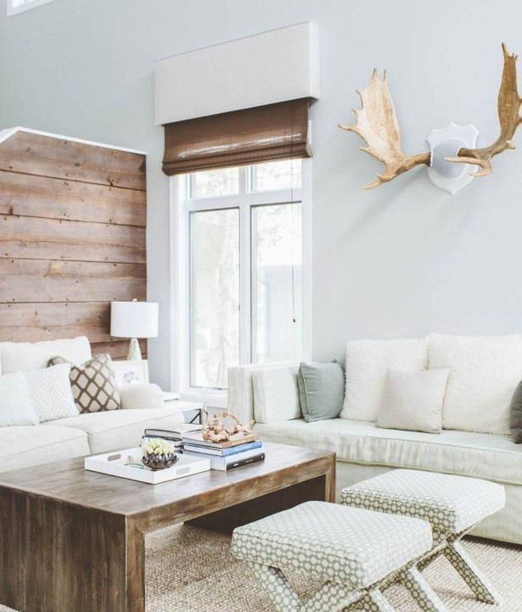Stunning Lodge Living Room Decor Ideas 21
