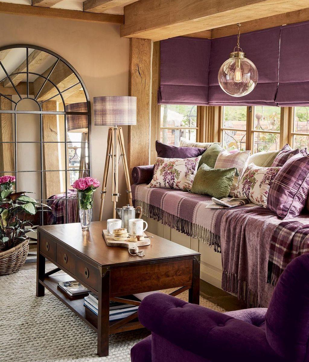 Stunning Lodge Living Room Decor Ideas 33