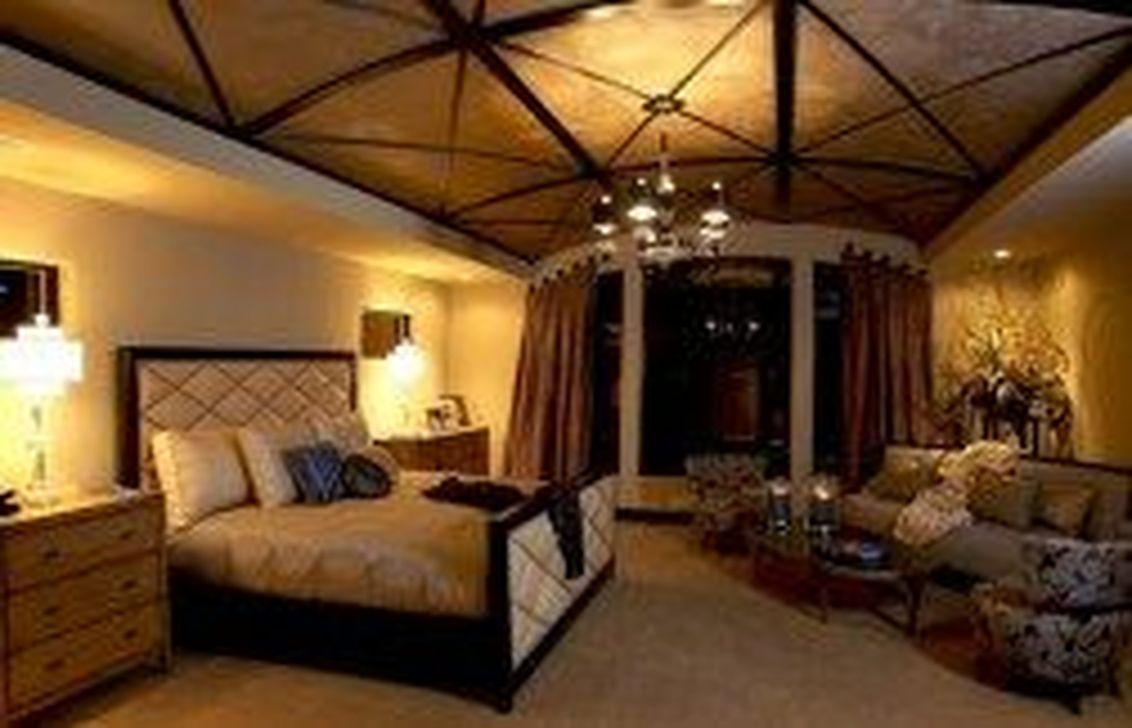 40 Beautiful Romantic Bedroom Lighting Ideas - HMDCRTN
