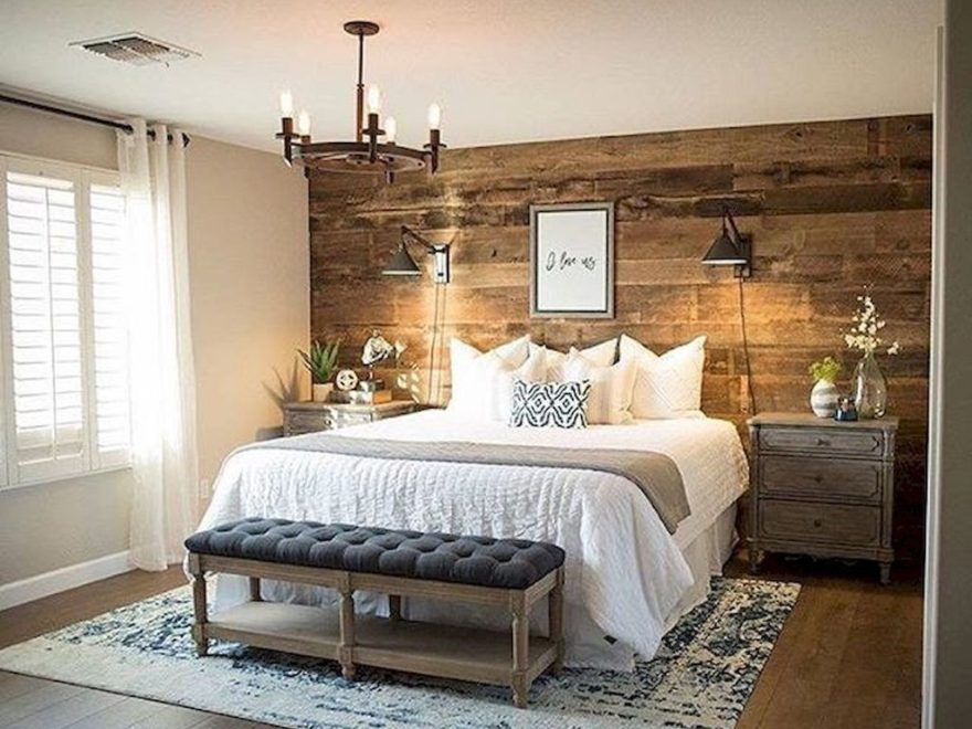 Beautiful Small Master Bedroom Design Ideas On A Budget 27