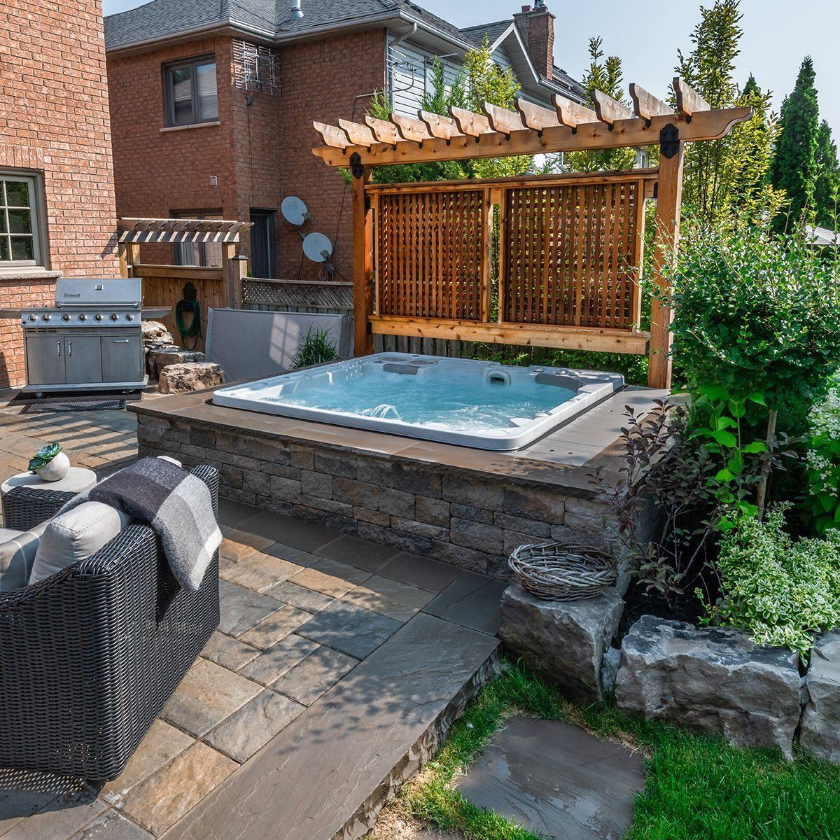 Inspiring Hot Tub Patio Design Ideas For Your Outdoor ...