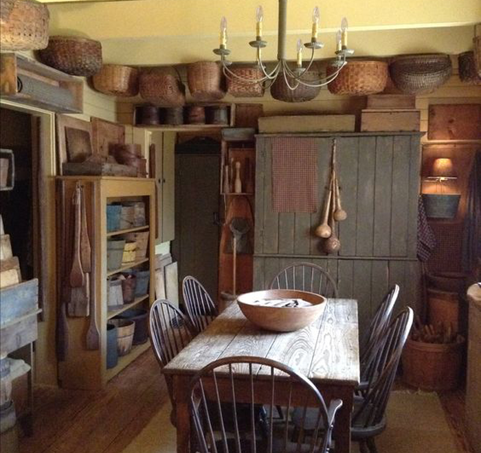 Nice Colonial Kitchen Decoration Ideas 15