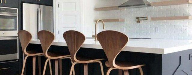 Stunning Black Kitchen Island Ideas 22