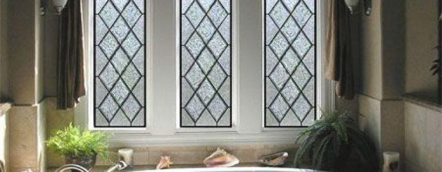 Stunning Leaded Glass Windows Design Ideas 10