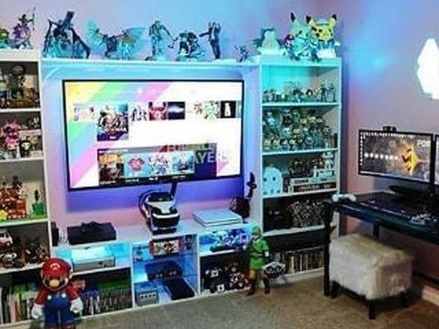 The Best Gaming Setup For Amazing Rooms 32