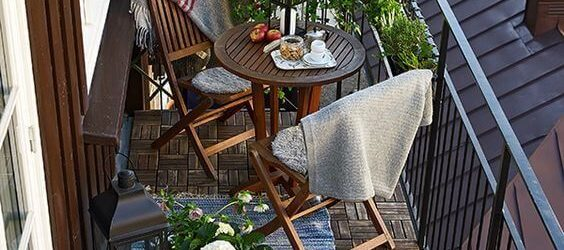 Lovely Small Porch Apartment Balconies Ideas 30