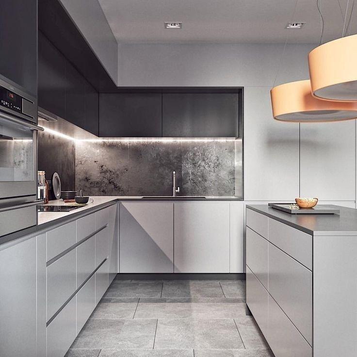 Nice Modern Kitchen Design And Decor Ideas 03