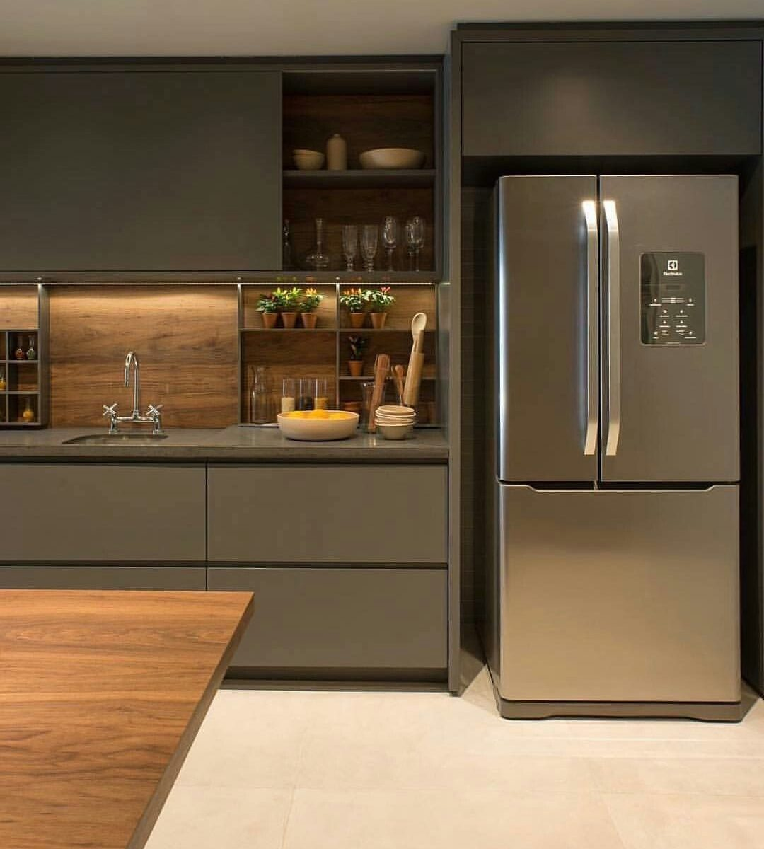 Nice Modern Kitchen Design And Decor Ideas 05