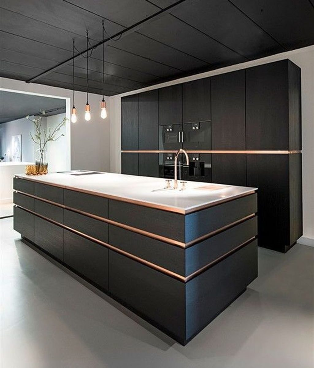 Nice Modern Kitchen Design And Decor Ideas 06