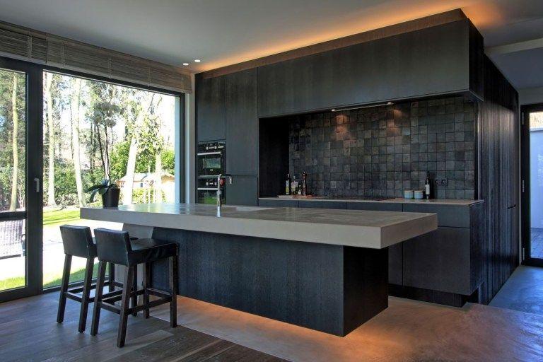Nice Modern Kitchen Design And Decor Ideas 09