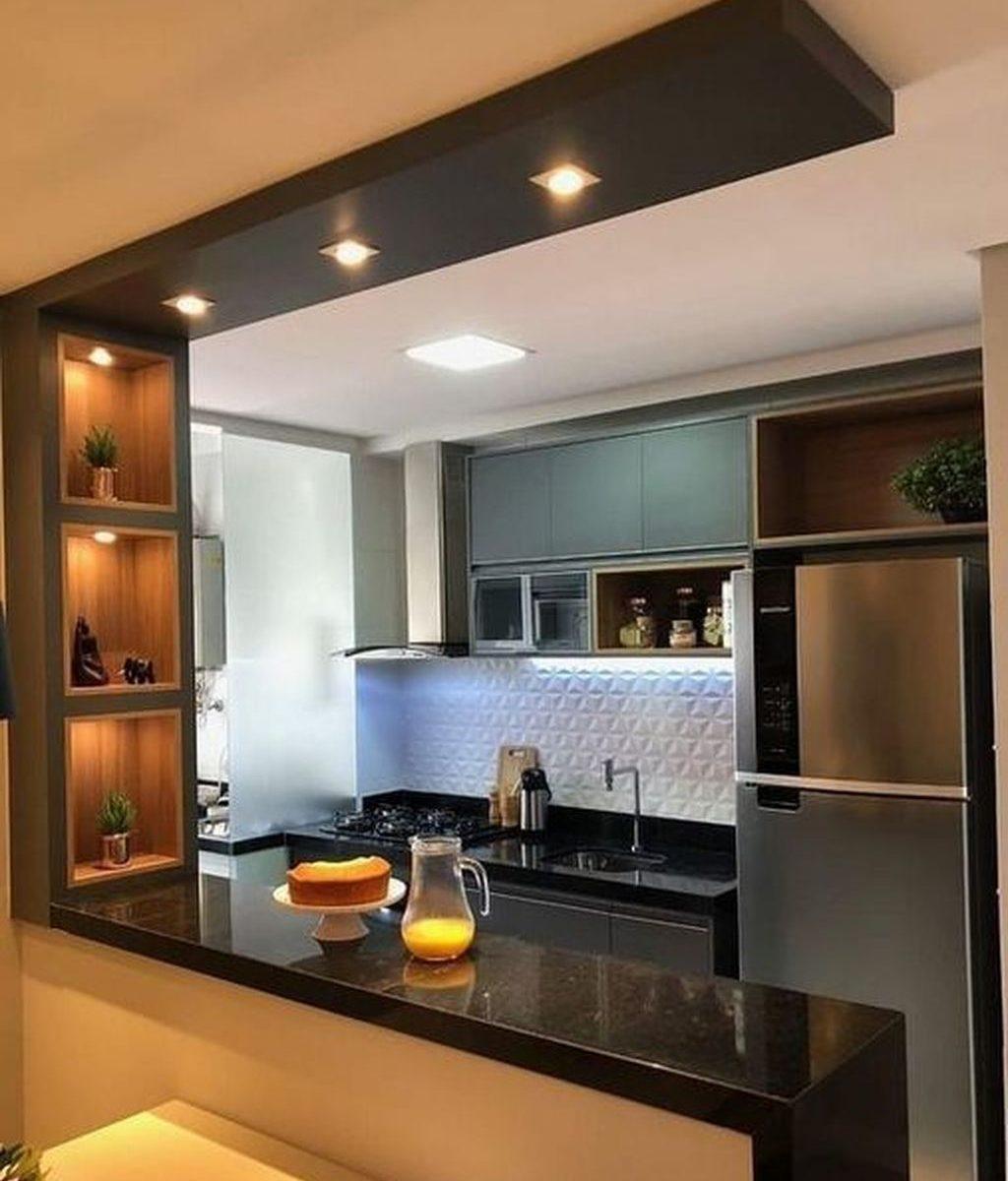 Nice Modern Kitchen Design And Decor Ideas 27