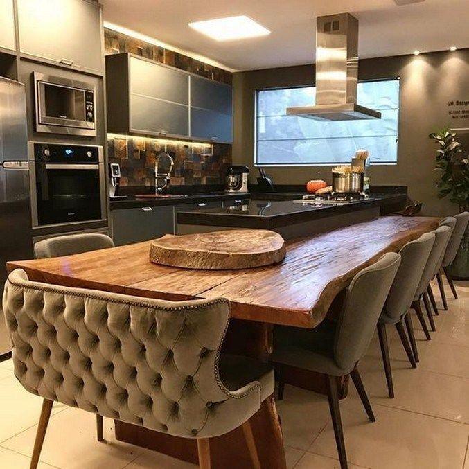Nice Modern Kitchen Design And Decor Ideas 31