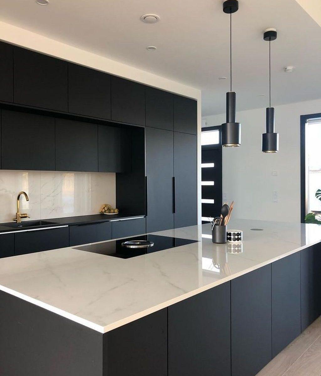 Nice Modern Kitchen Design And Decor Ideas 34