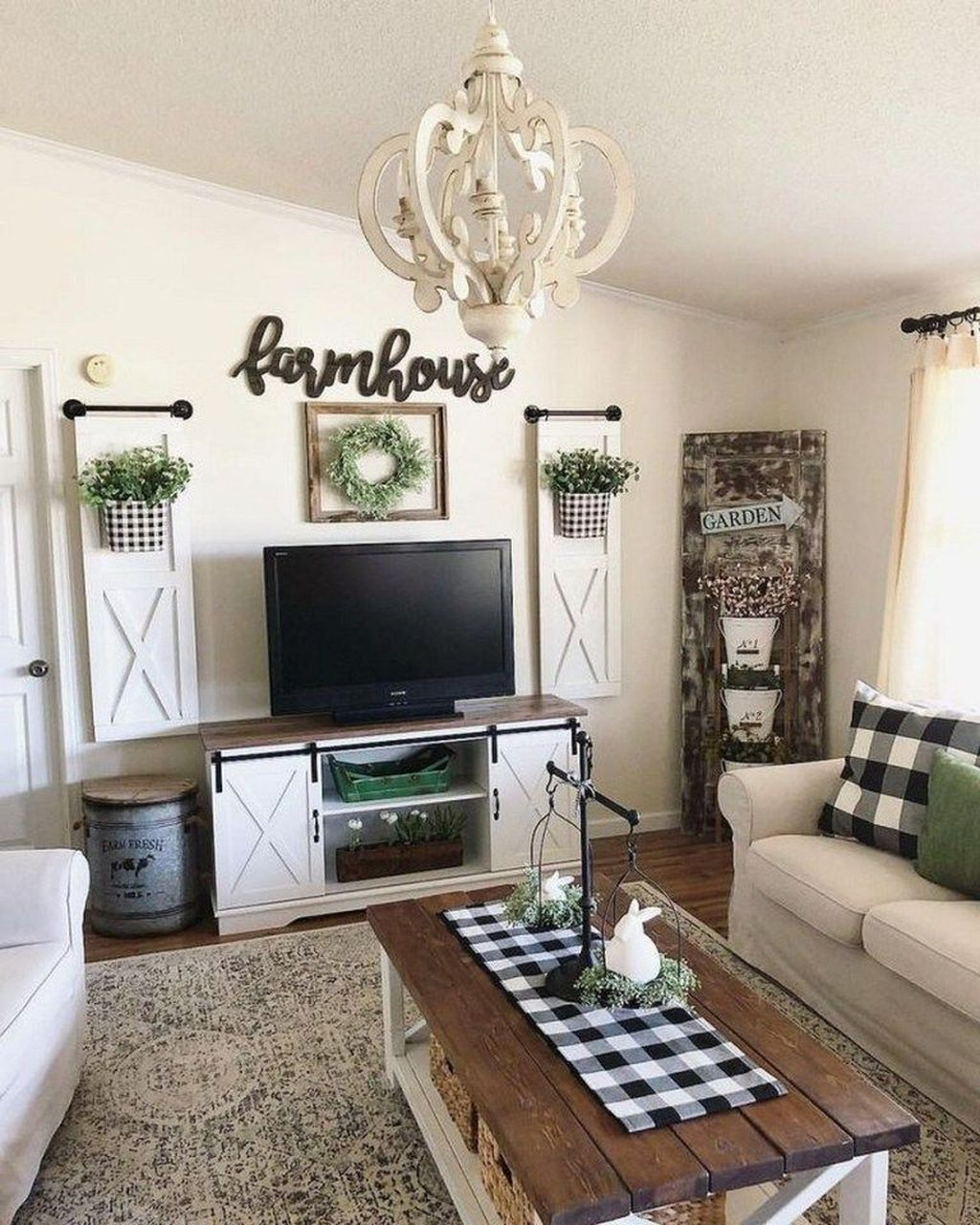 Popular Modern Farmhouse Living Room Decor Ideas 35 Hmdcrtn