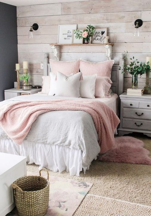 Beautiful White Bedroom Design And Decor Ideas 03