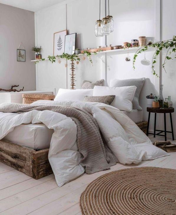 Beautiful White Bedroom Design And Decor Ideas 07
