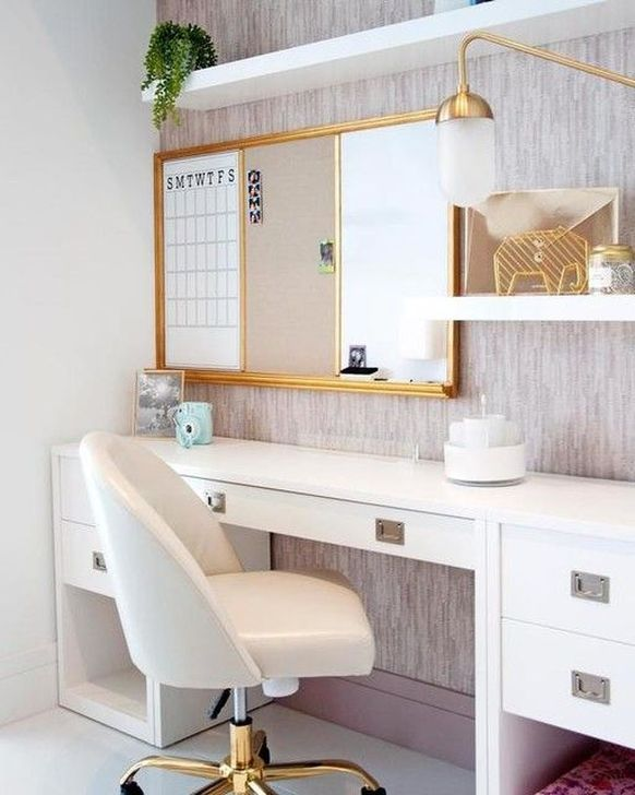 Beautiful White Bedroom Design And Decor Ideas 20