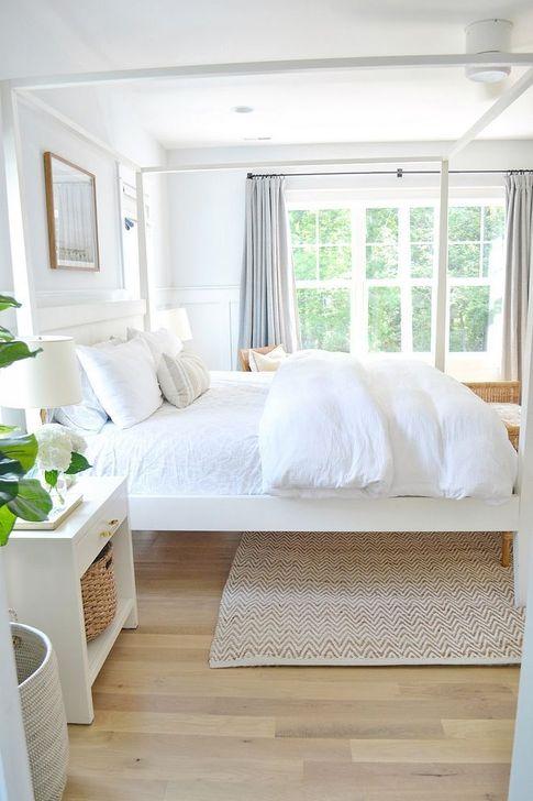 Beautiful White Bedroom Design And Decor Ideas 21