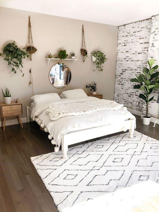 Beautiful White Bedroom Design And Decor Ideas 27