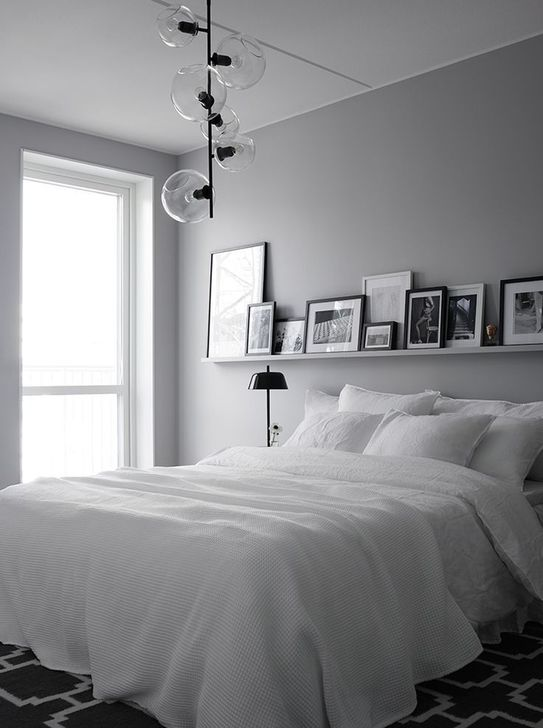 Beautiful White Bedroom Design And Decor Ideas 30