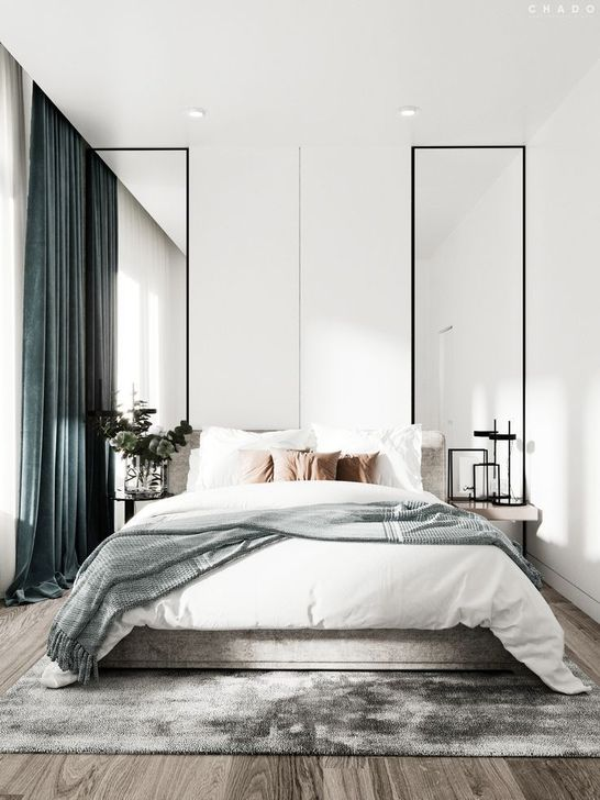 Beautiful White Bedroom Design And Decor Ideas 32