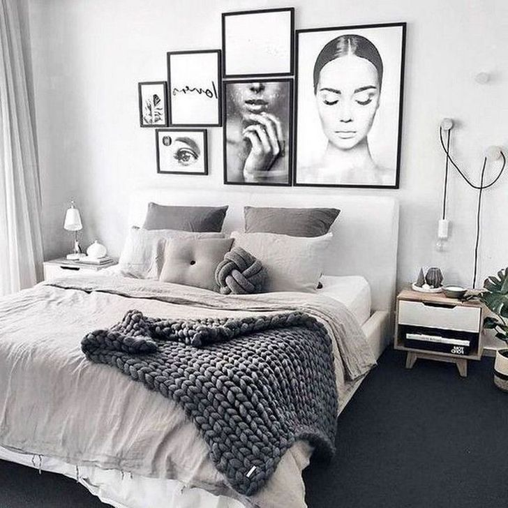 Beautiful White Bedroom Design And Decor Ideas 36