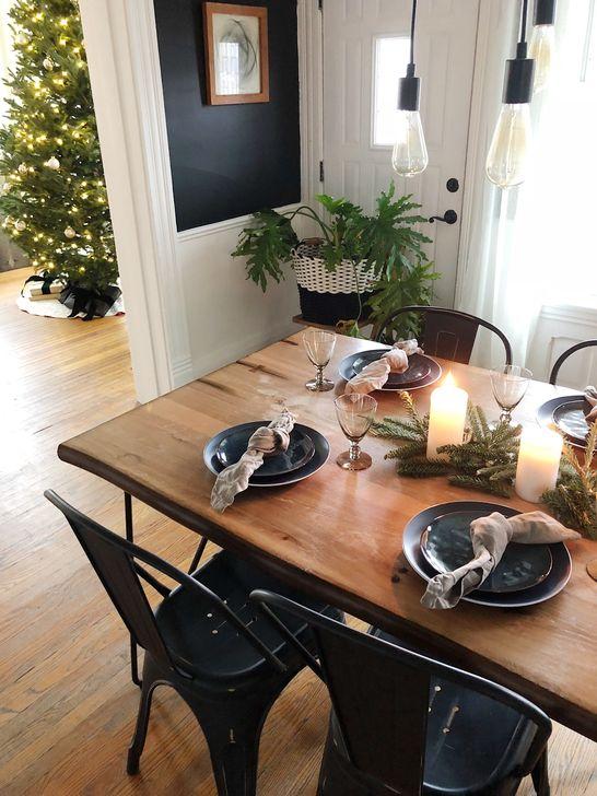 Gorgeous Rustic Dining Room Design Ideas 26
