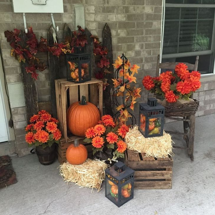 Inspiring Fall Decor Ideas For Your Home Decor 23