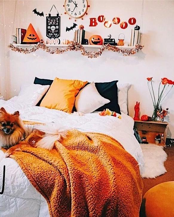 Lovely Fall Bedroom Decor Ideas 03