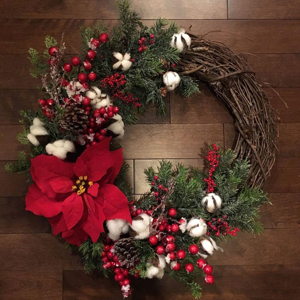 Gorgeous DIY Christmas Wreaths You Should Copy Now 09