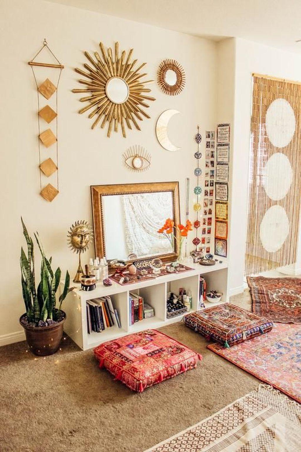 Stunning Hippie Room Decor Ideas You Never Seen Before 01 Hmdcrtn
