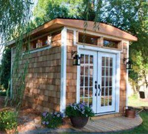 Awesome Backyard Shed Landscaping Ideas 11