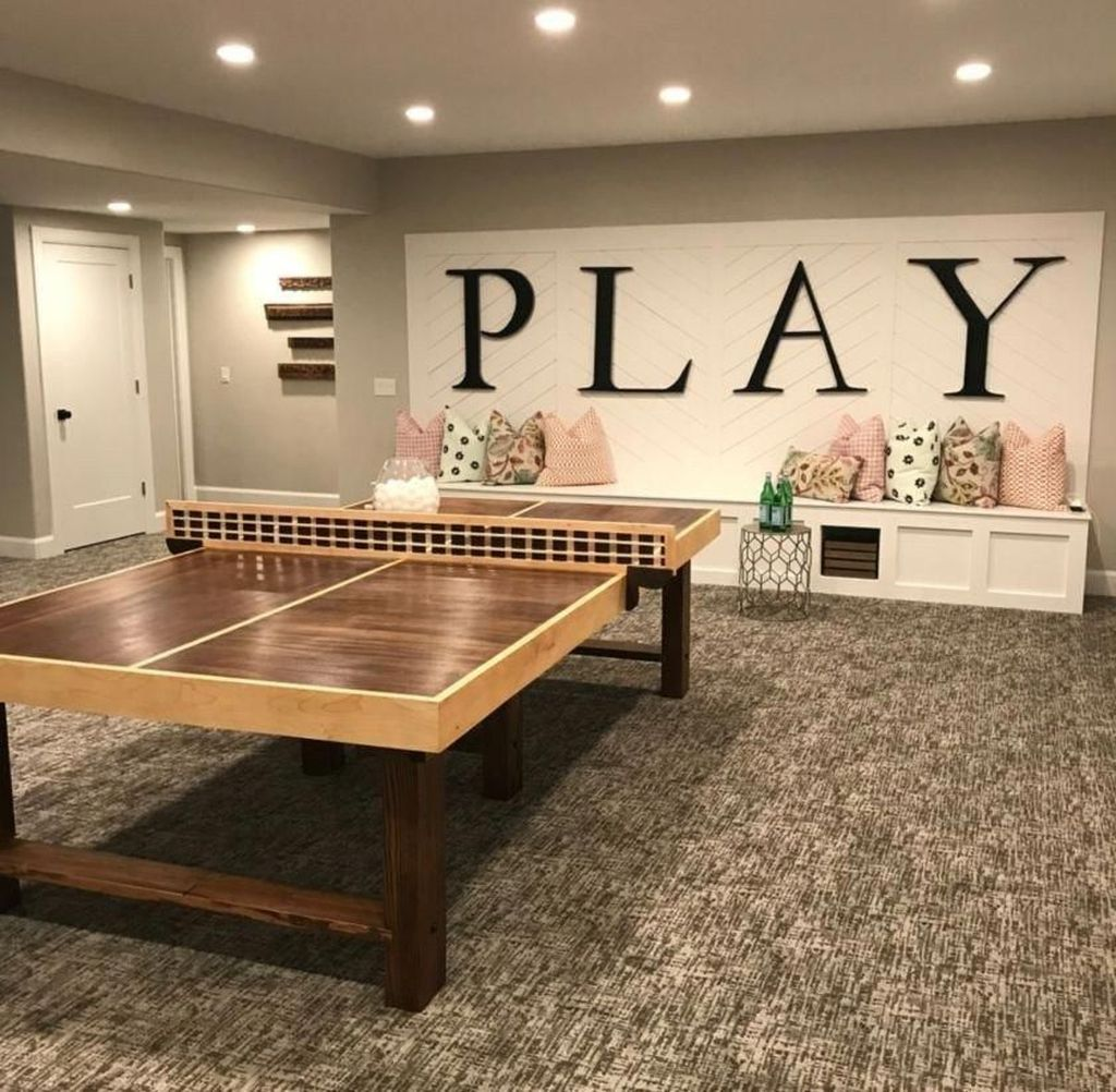Awesome Basement Remodel Ideas That You Can Try 26