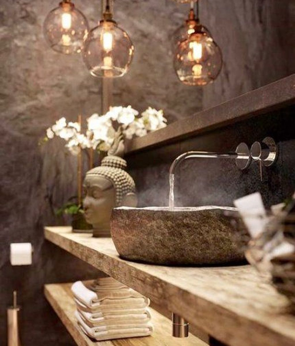 Awesome Spa Bathroom Decor Ideas You Must Have 33