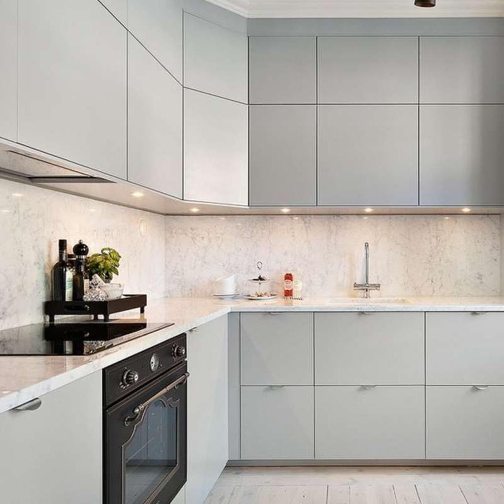 Beautiful Quartz Backsplash Kitchen Design Ideas 12