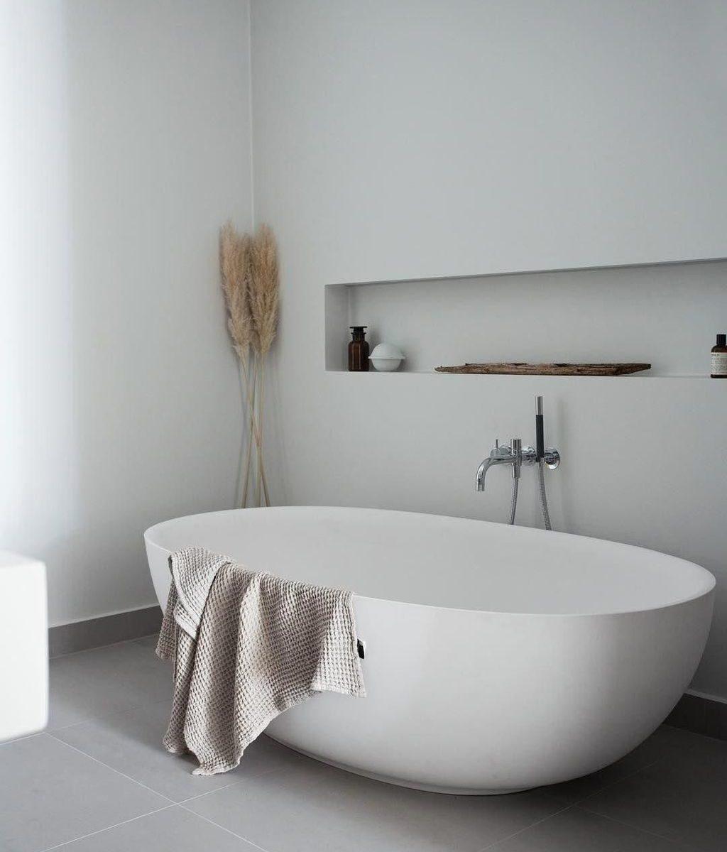 Fascinating Minimalist Bathroom Decoration Ideas 04