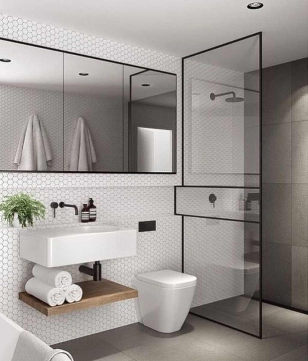Fascinating Minimalist Bathroom Decoration Ideas 06