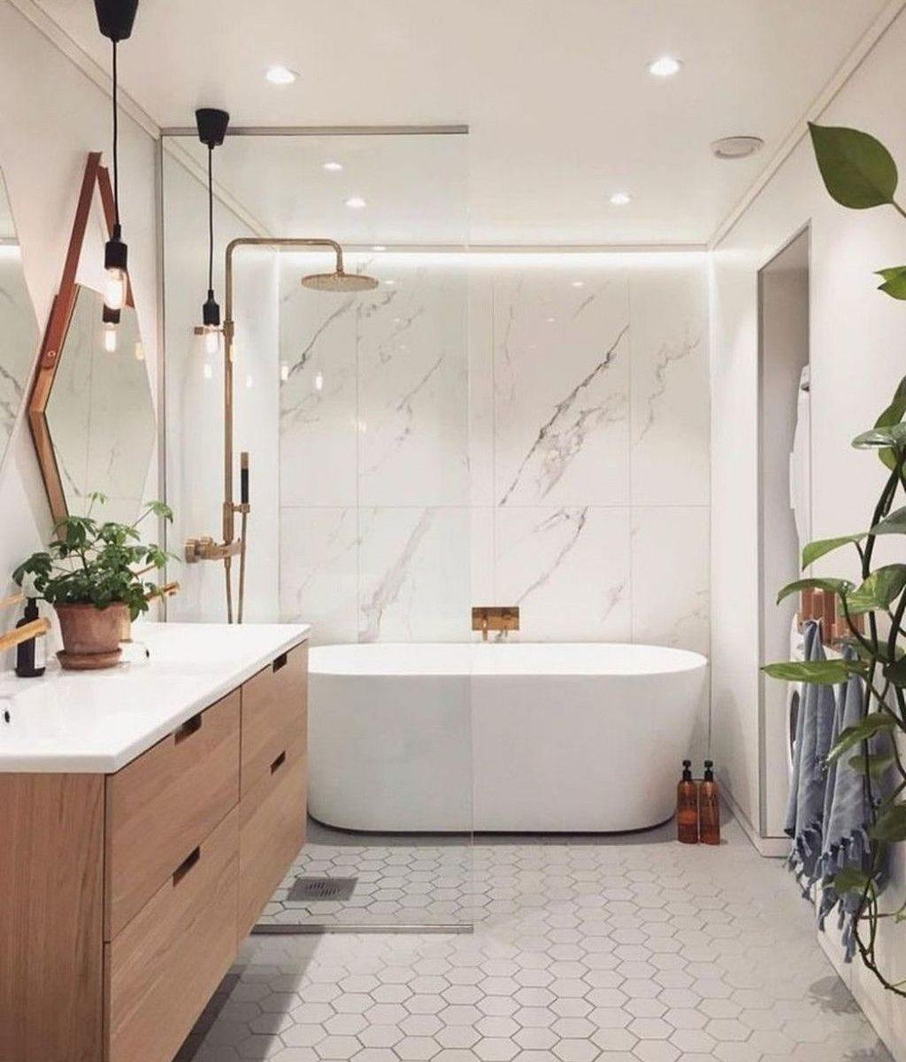 Fascinating Minimalist Bathroom Decoration Ideas 14
