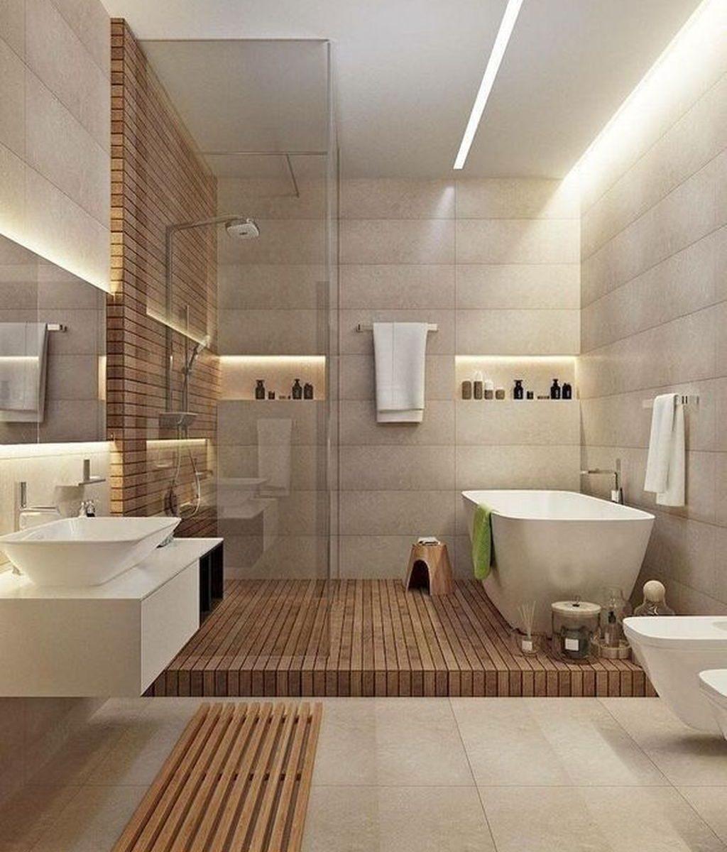 Fascinating Minimalist Bathroom Decoration Ideas 17