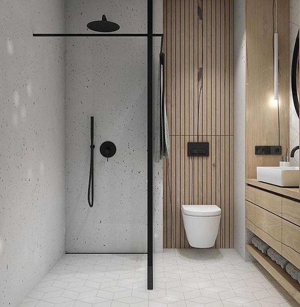 Fascinating Minimalist Bathroom Decoration Ideas 19