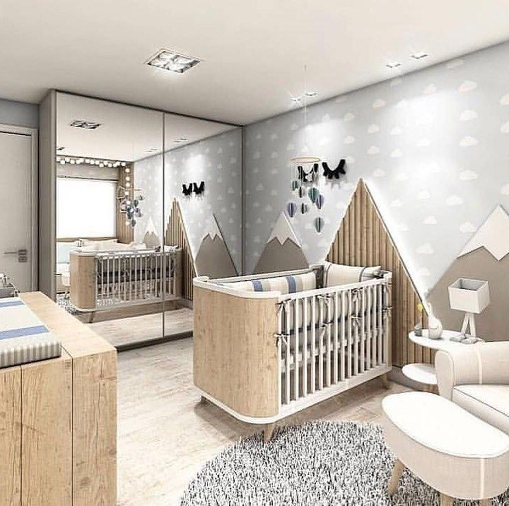Lovely Baby Room Themes Decorating Ideas 34