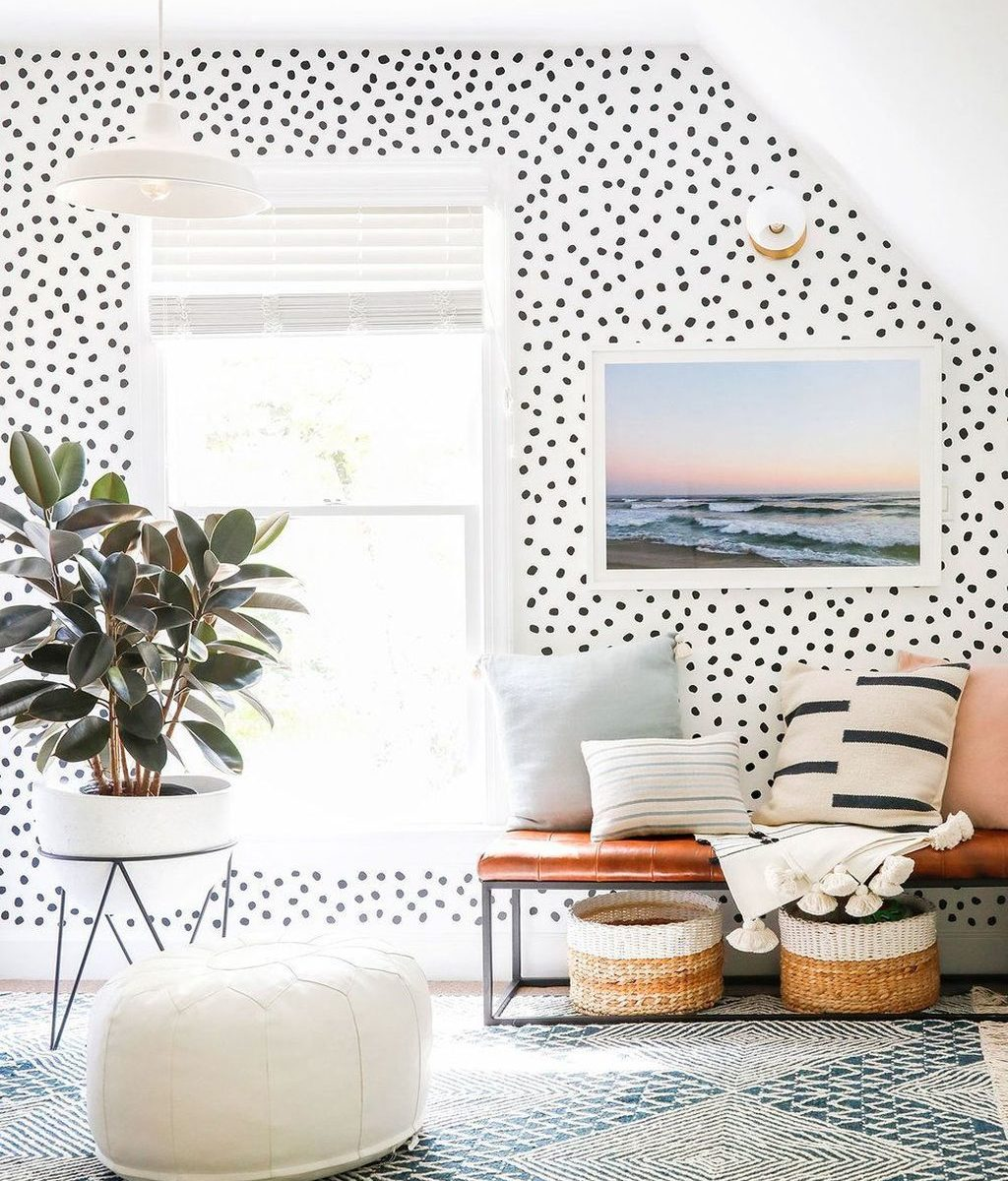 Brilliant Accent Wall Ideas For Living Room 09