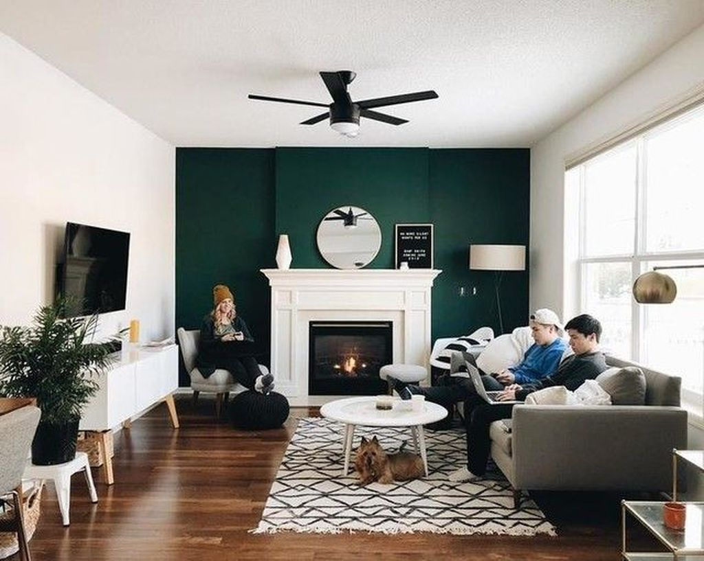 Brilliant Accent Wall Ideas For Living Room 22