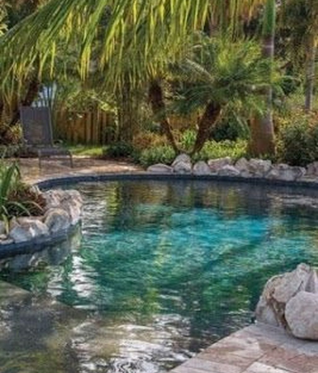 Fabulous Backyard Pool Landscaping Ideas You Never Seen Before 03