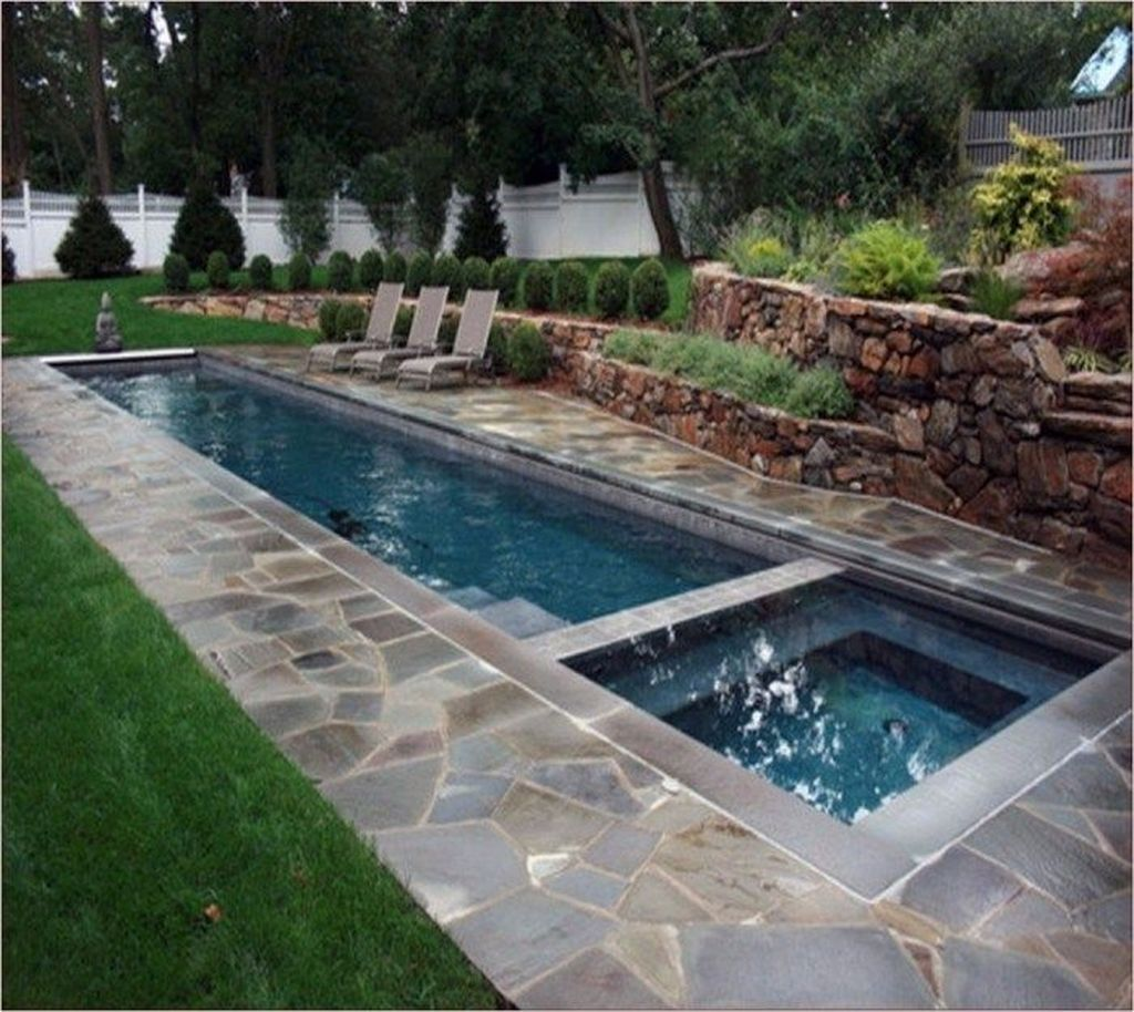 Fabulous Backyard Pool Landscaping Ideas You Never Seen Before 05